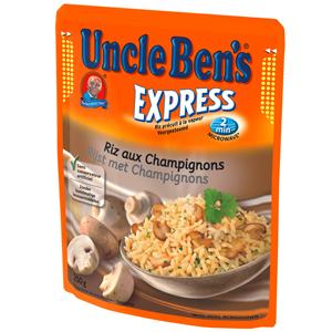 Uncle Ben's Express rijst met champignons
