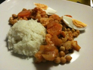 curry speciaal met rijst